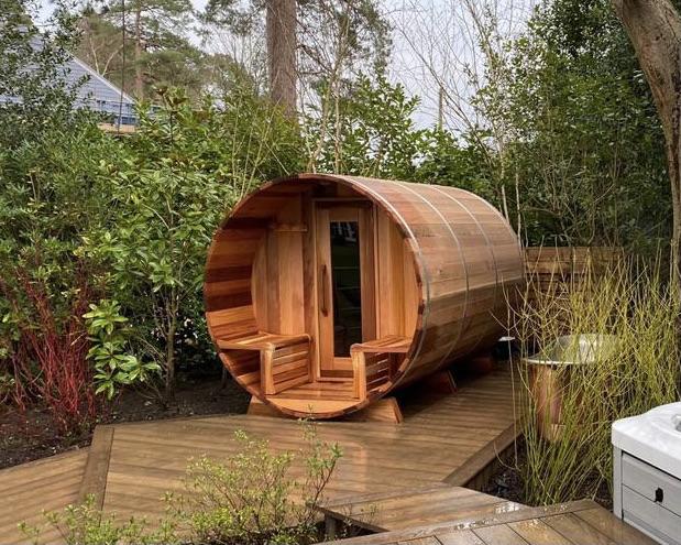 High quality Canadian Red Cedar wood Saunas